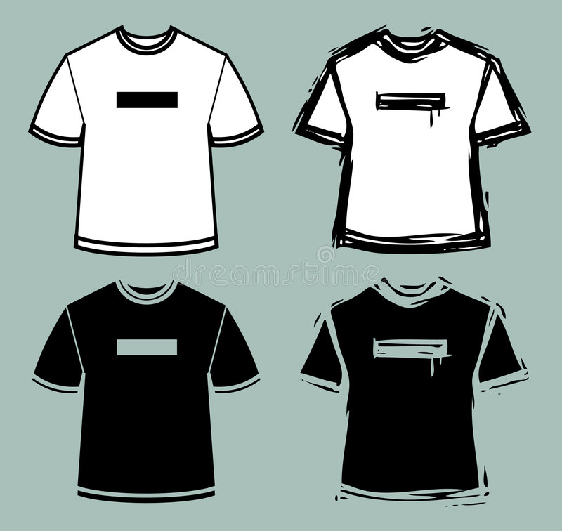 Download T-shirts stock vector. Illustration of vector, funky, sketch - 1926852