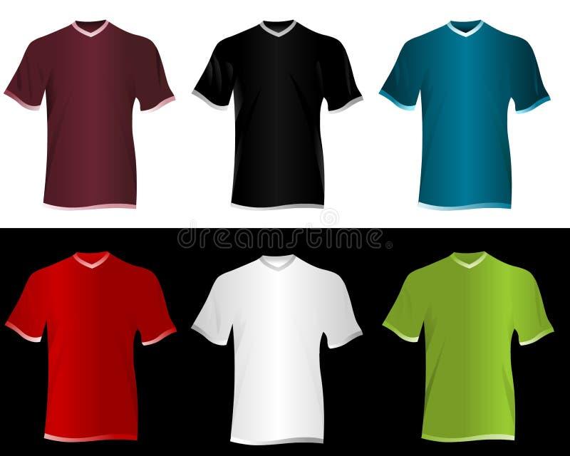 Download T-shirts stock illustration. Illustration of design, casual - 20729689