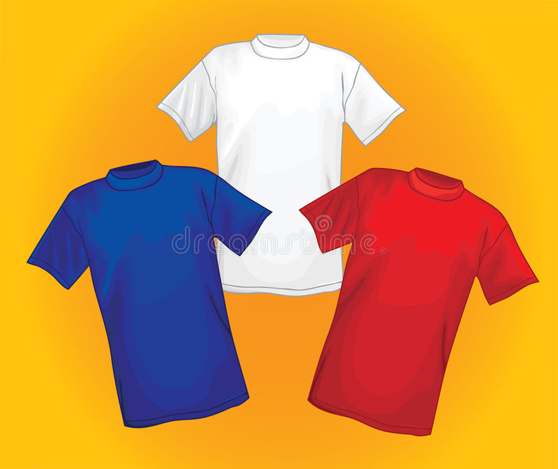 T-shirts vector illustratie