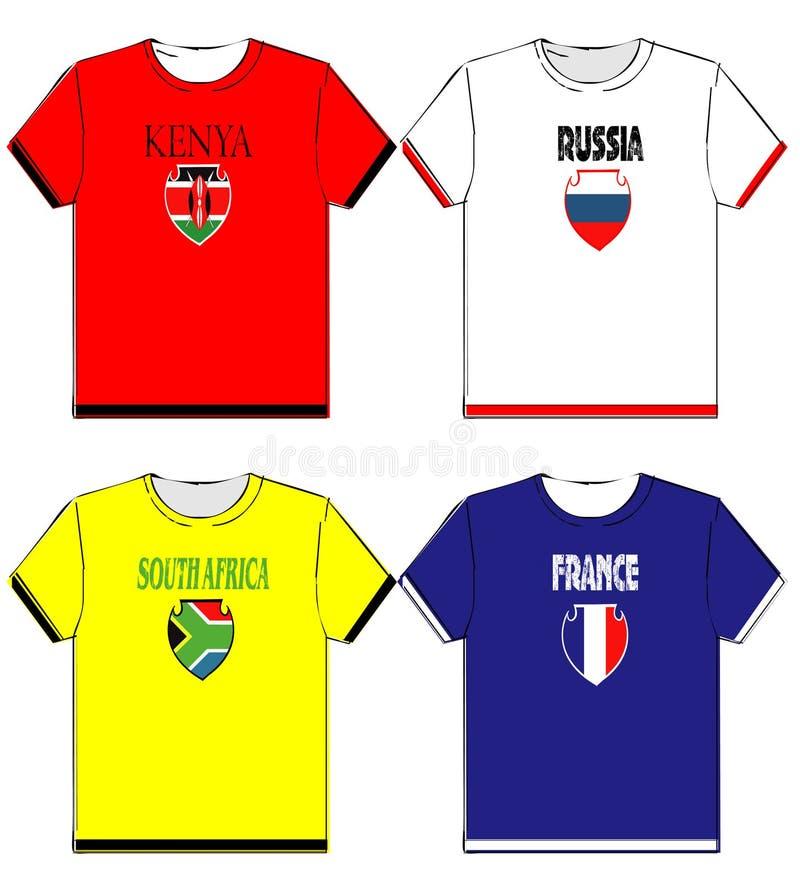T-shirts graphiques avec le ressortissant photo libre de droits