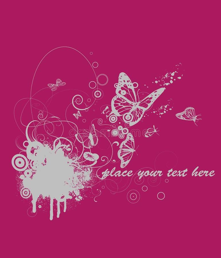 T-short design. Pink t-short design vector royalty free illustration