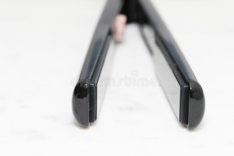 T3 SinglePass 1` Straightening & Styling Iron. New Jersey, USA - December 22, 2018: T3 SinglePass 1` Straightening & Styling Iron stock photography