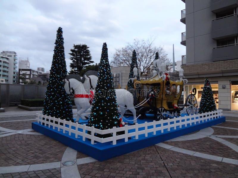 T-sito di Daikanyama in Shibuya Tokyo a dicembre fotografia stock