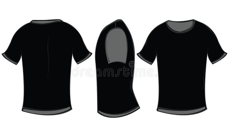 T-skjorta vektor illustrationer