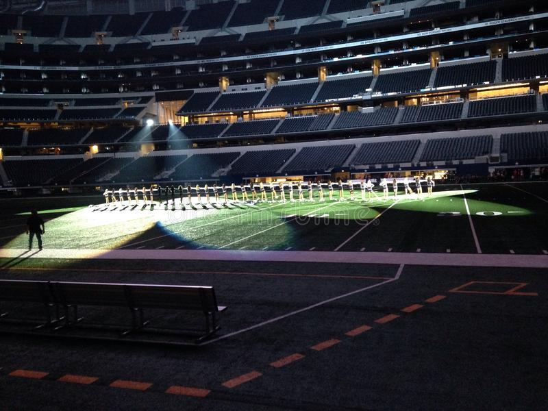 AT&T-Stadion van Dallas Cowboys royalty-vrije stock foto