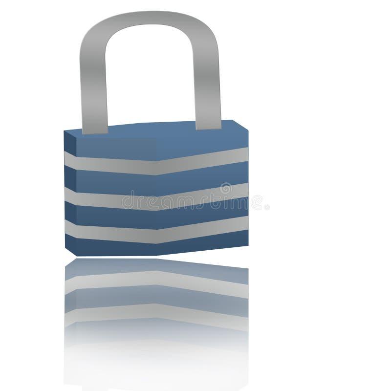 Download Tła szafki biel ilustracji. Ilustracja złożonej z bezpieczeństwo - 13327727