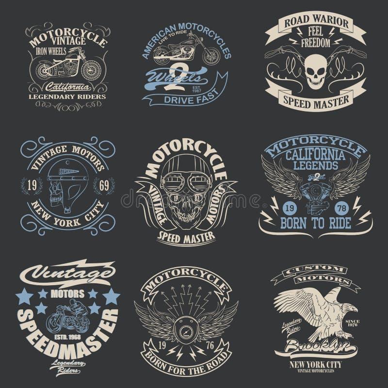 T-tröjadiagram royaltyfri illustrationer
