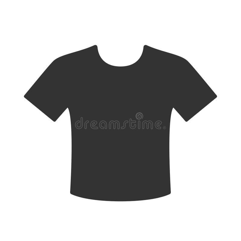 T-tröjasymbol royaltyfri illustrationer