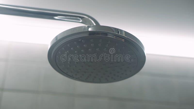 t?tt huvud skjuten dusch upp Rengöra bakgrund arkivfoton