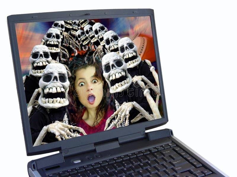 Download Tłum Halloween. obraz stock. Obraz złożonej z haunter, city - 32277