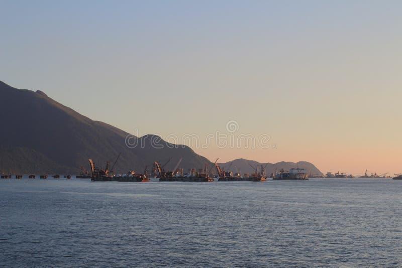 T?uschung Shek Tsuen am 24. August 2014 Hong Kong lizenzfreies stockfoto