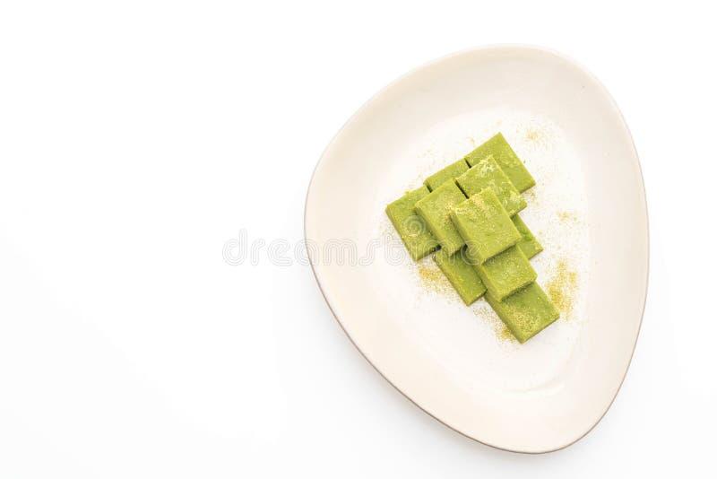 t? verde del chocolate suave imagen de archivo