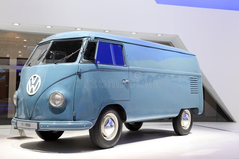 T1 van Volkswagen Van vanaf 1950 royalty-vrije stock foto