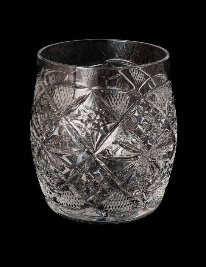 Taça Cut-glass imagem de stock