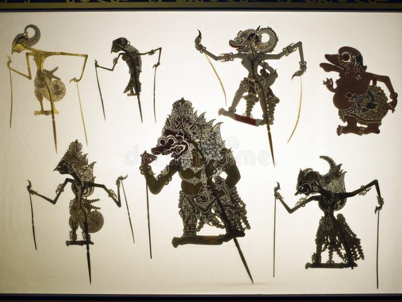Taïpeh, fabrication de marionnettes d'ombre photos libres de droits
