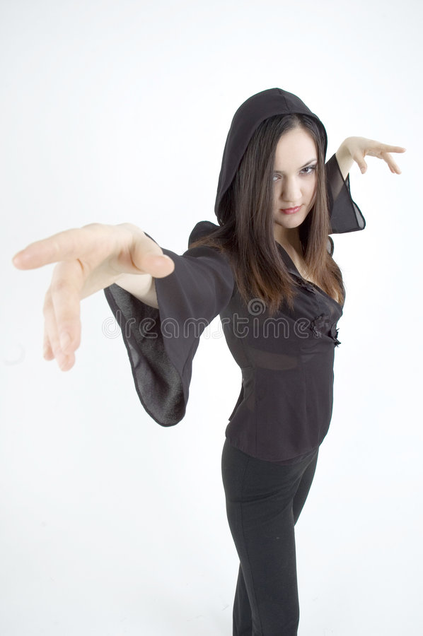 tańcząca dziewczyna zdjęcie royalty free