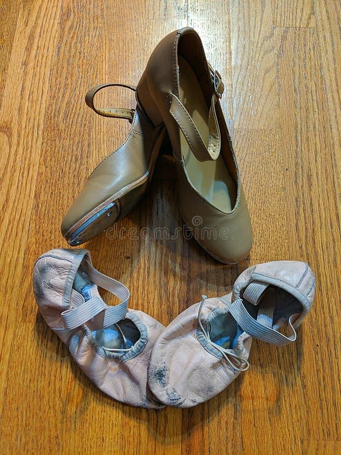 tańczące buty fotografia stock