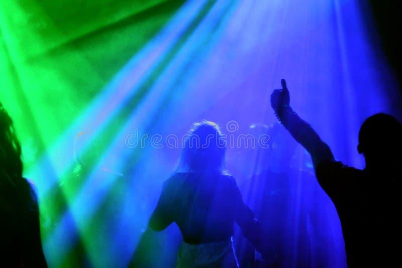 tańczące ludzi obraz royalty free