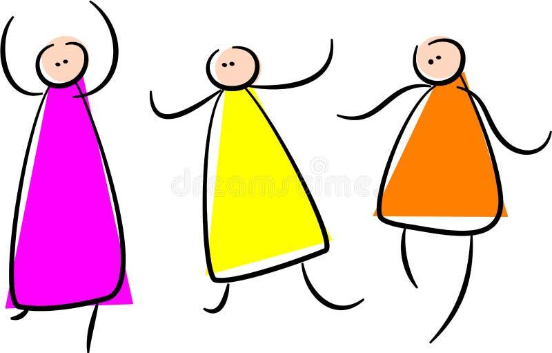 tańczyć ilustracja wektor