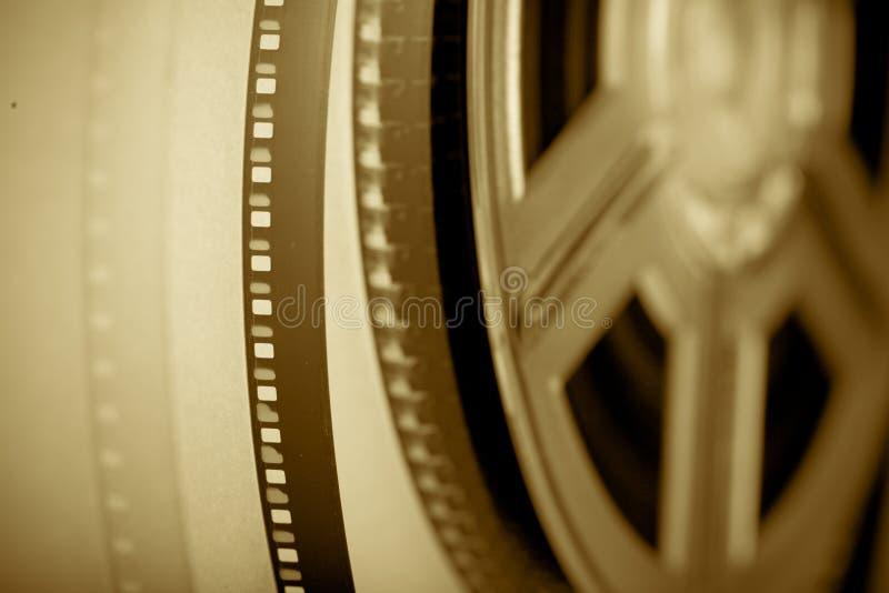 taśma filmowa światła zdjęcie stock