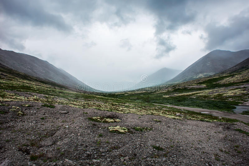TA de la montaña de Ridge imagenes de archivo