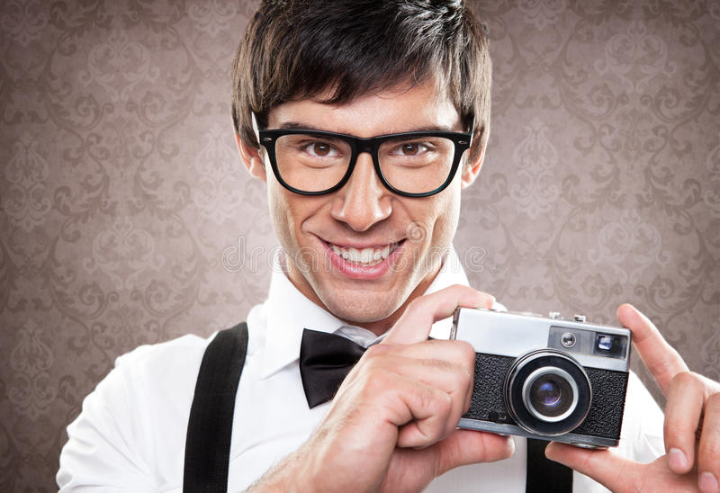 Ta ett foto arkivfoton