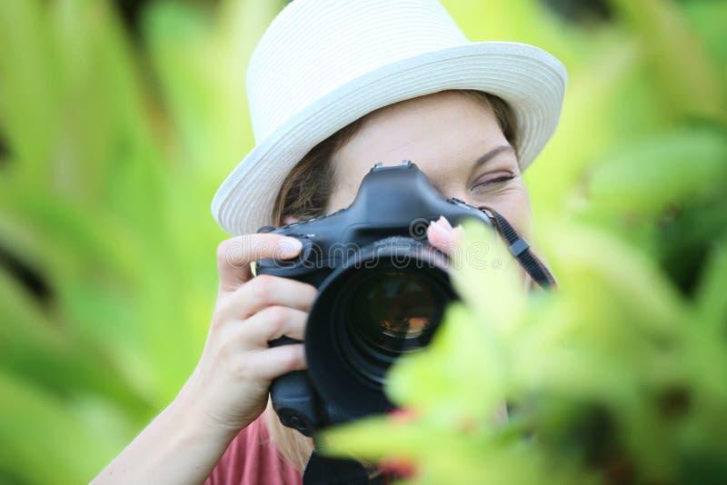 ta för fotofotograf royaltyfri bild
