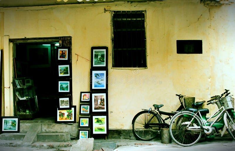 Ta Hien str, Hanoi, Vietnam royalty free stock images