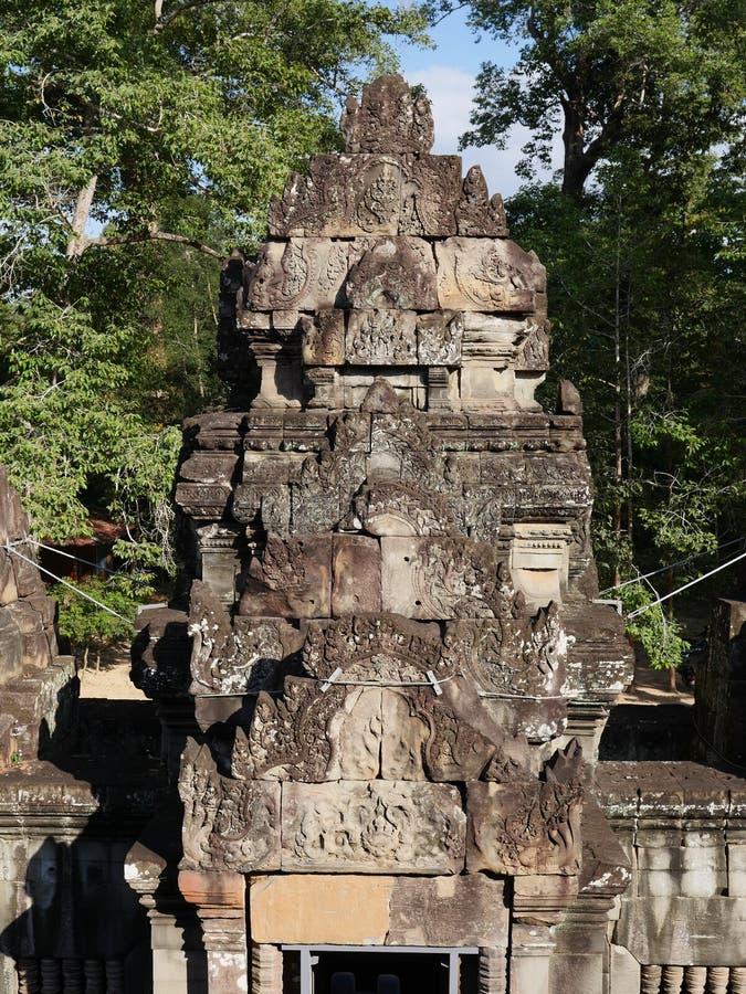 Download Ta Keo, Tempel-berg I Angkor, Cambodja Fotografering för Bildbyråer - Bild av fördärva, brant: 106829101