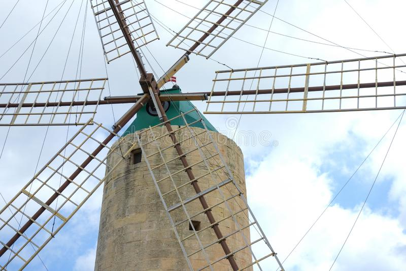 Ta' Kola Windmill, Gozo, Malta fotos de stock