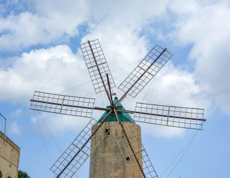 Ta' Kola Windmill, Gozo, Malta foto de stock