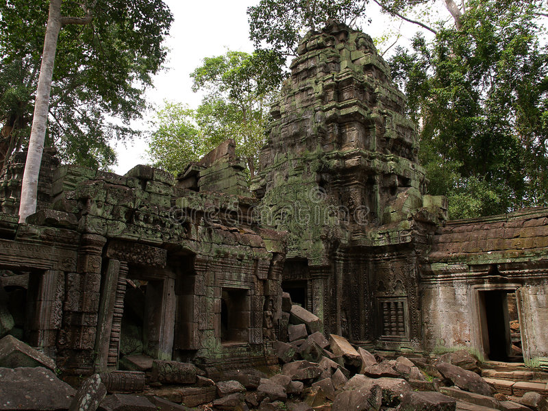 Ta Prohm, Siem Reap imagem de stock royalty free