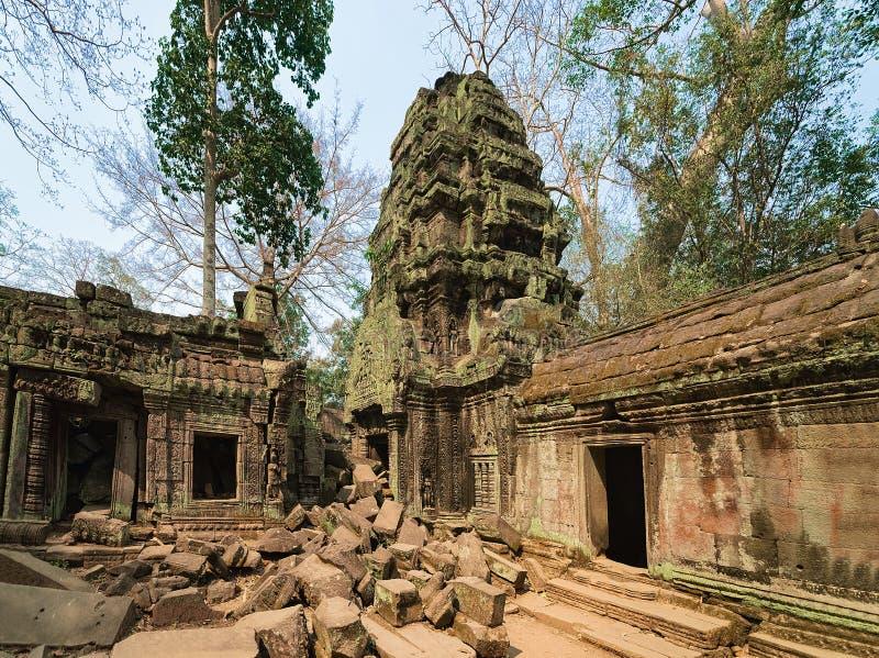 Ta Prohm temple complex Siem Reap Cambodia. Ta Prohm temple complex, Siem Reap, in Cambodia stock image