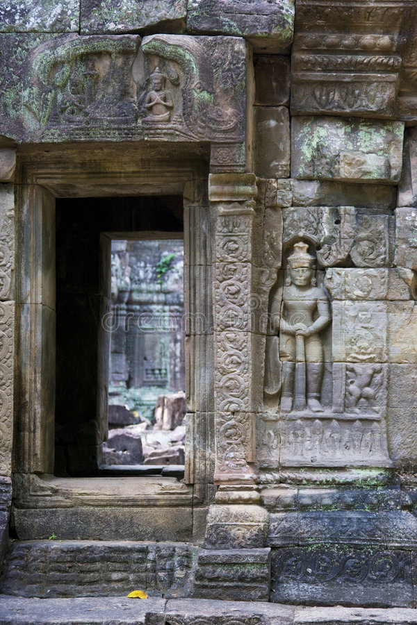 Ta Som, Cambodia stock photos