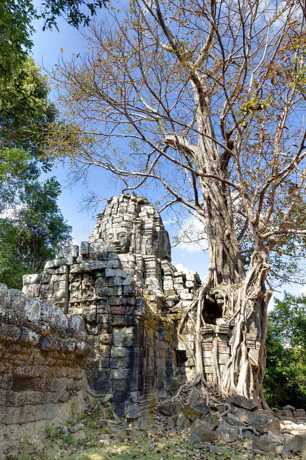 Download Ta Som temple stock image. Image of stone, heritage, erosion - 26414343
