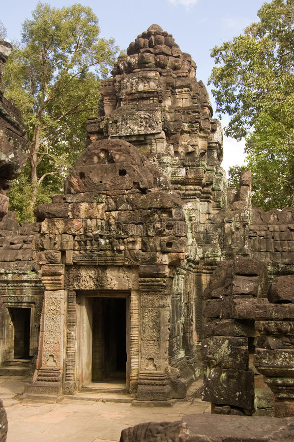 Download Ta Som Temple, Angkor, Cambodia Stock Image - Image: 25117881