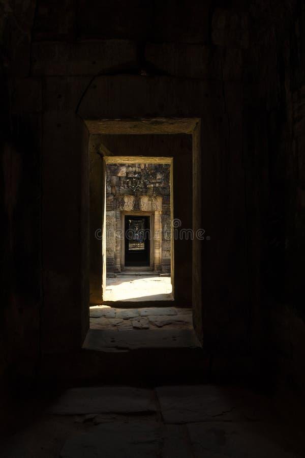 Ta-Somtempel in Angkor Wat Komplex, Kambodscha, Asien stockbilder