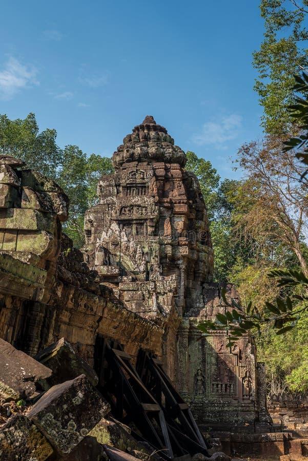 Ta-Somtempel in Angkor Wat Komplex, Kambodscha, Asien lizenzfreie stockbilder
