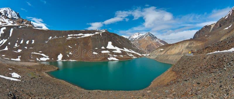 taal湖的suraj 库存图片