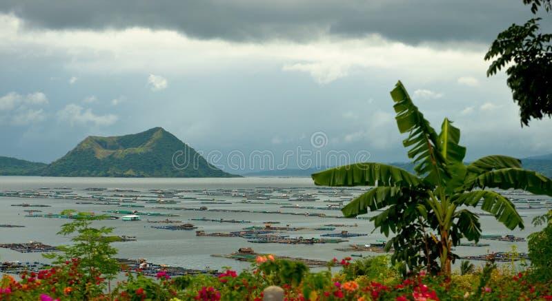 Taal, Matabunkay, Filippijnen stock afbeelding