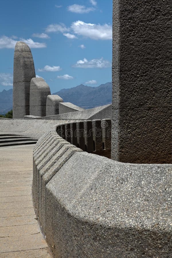 Taal monument arkivfoton