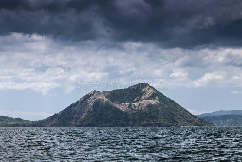 Taal Vulkan, Philippinen lizenzfreies stockfoto