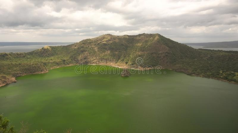Taal-Vulkan, Tagaytay, Philippinen stockfoto