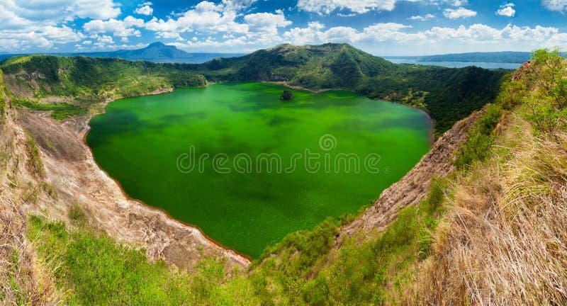 Taalvulkaan, Manilla, Filippijnen royalty-vrije stock foto's