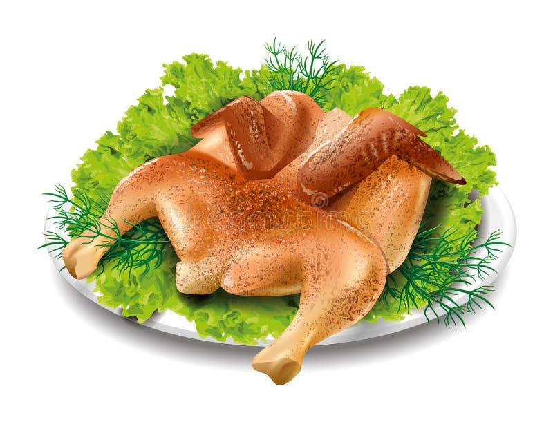 Tabacco del pollo royalty illustrazione gratis