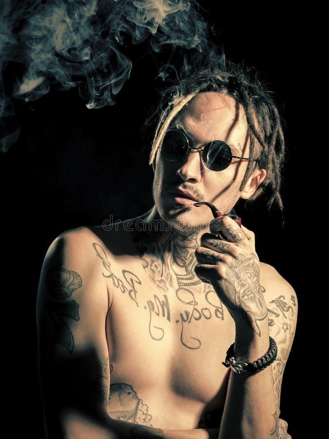 Tabacco e nicotina fotografia stock libera da diritti