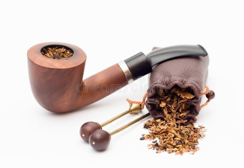 Tabacco-tubo immagine stock
