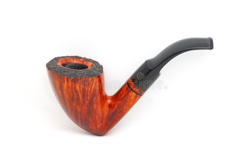 Tabaczna drymba na bielu zdjęcie royalty free