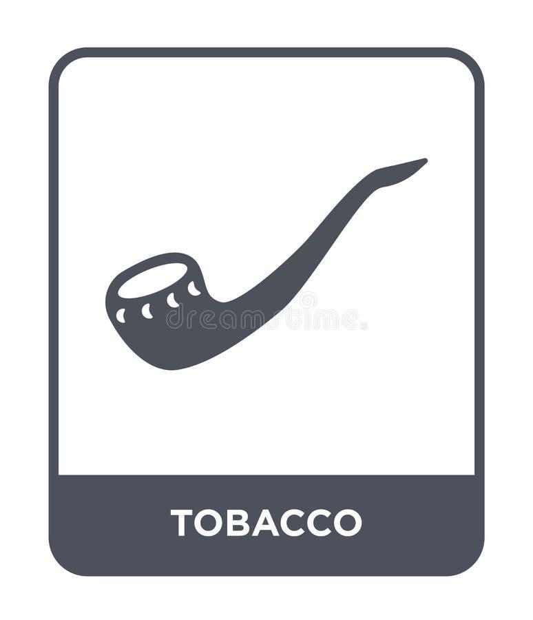 tabaczna ikona w modnym projekta stylu tabaczna ikona odizolowywająca na białym tle tabacznej wektorowej ikony prosty i nowożytny ilustracja wektor