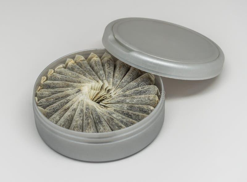Tabaka, szwedzi Snus/ zdjęcia stock